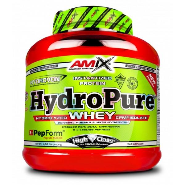 Πρωτεΐνη HydroPure Whey Protein Amix 1600g Κρέμα Βανίλια