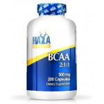 BCAA Αμινοξέα Διακλαδισμένης Αλυσίδας Sports BCAA 2:1:1 500mg HayaLabs 200 κάψουλες