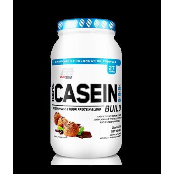Καζεΐνη Everbuild 100% Casein Build 2lb 0,908g Παγωτό Σοκολάτα