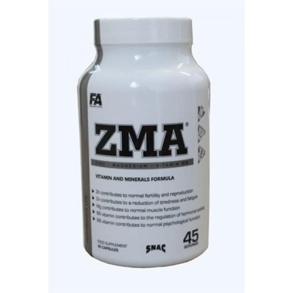 ZMA  Μαγνήσιο Ψευδάργυρος και βιταμίνη Β6 - FA Nutrition 90 κάψουλες