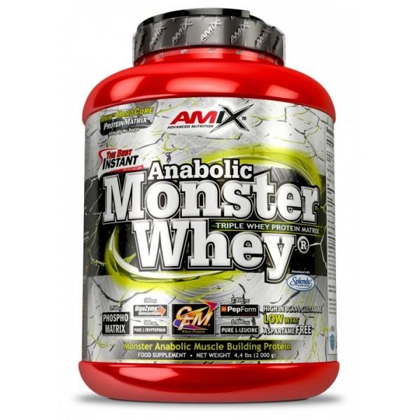 Πρωτεΐνη Anabolic Monster Whey Amix 2000g Bανίλια Κεράσι