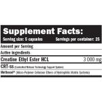 Κρεατίνη Αιθυλεστερική Creatine Ethyl Ester (CEE) 125 κάψουλες Amix