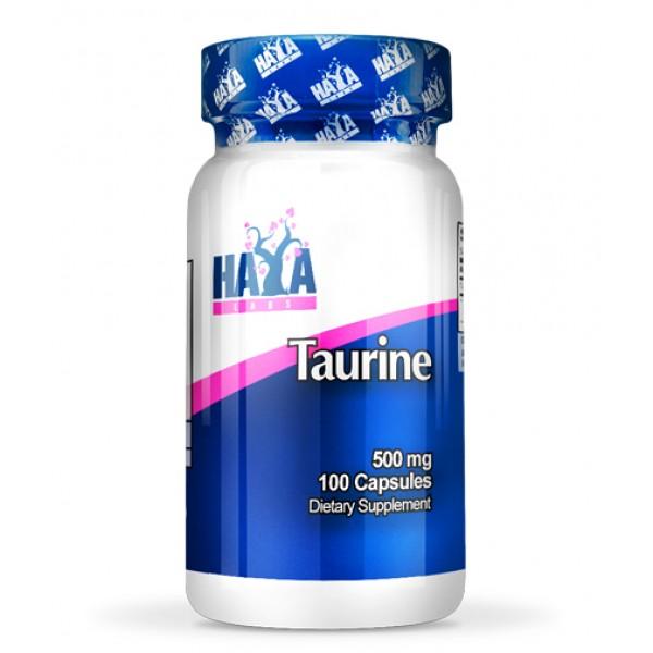 Ταυρίνη Taurine 500mg 100caps HayaLabs