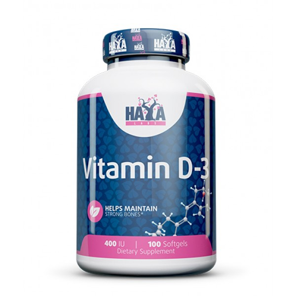 Βιταμίνη D 400 IU 100 softgels HayaLabs