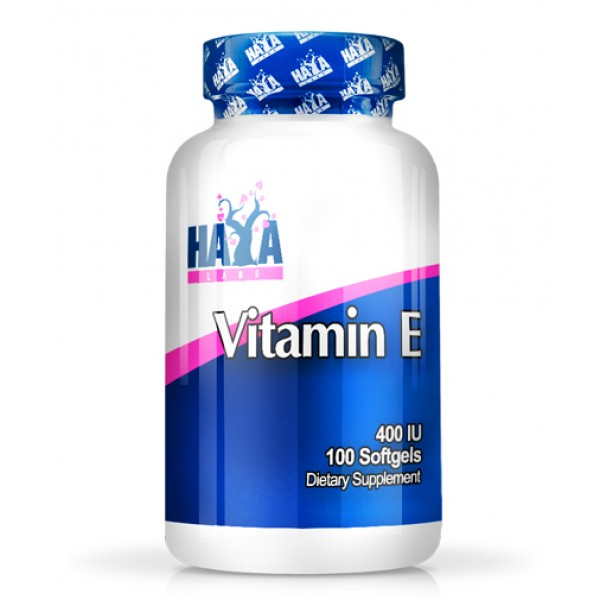 Βιταμίνη Ε vitamin E 400IU 100softgels HayaLabs