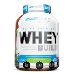Πρωτεΐνη Ultra Premium Whey Build Everbuild Nutrition 2271g Σοκολάτα Deluxe