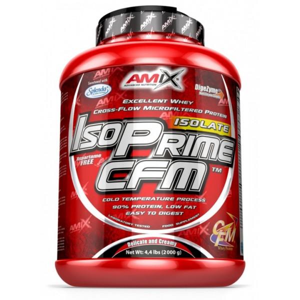 Πρωτεΐνη Ορού Γάλακτος IsoPrime CFM Amix 2000g Κρέμα Βανίλια