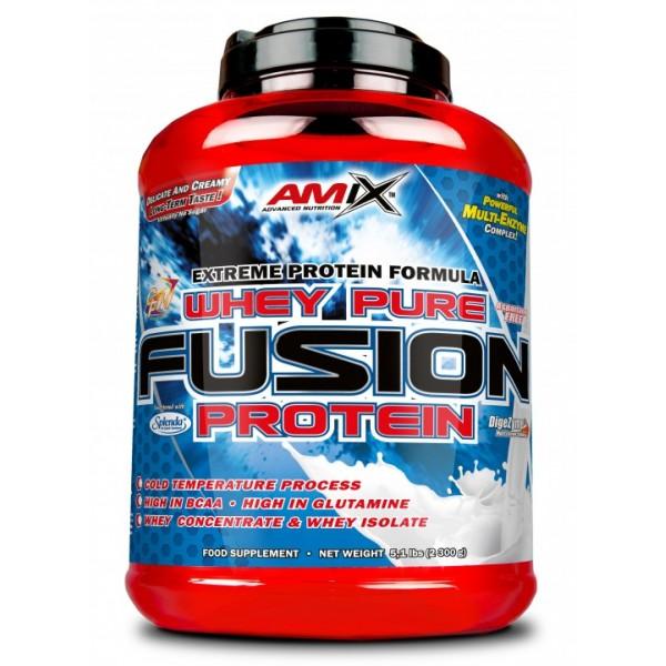 Πρωτεΐνη Whey Pure Fusion Amix 2300g Φυστίκι